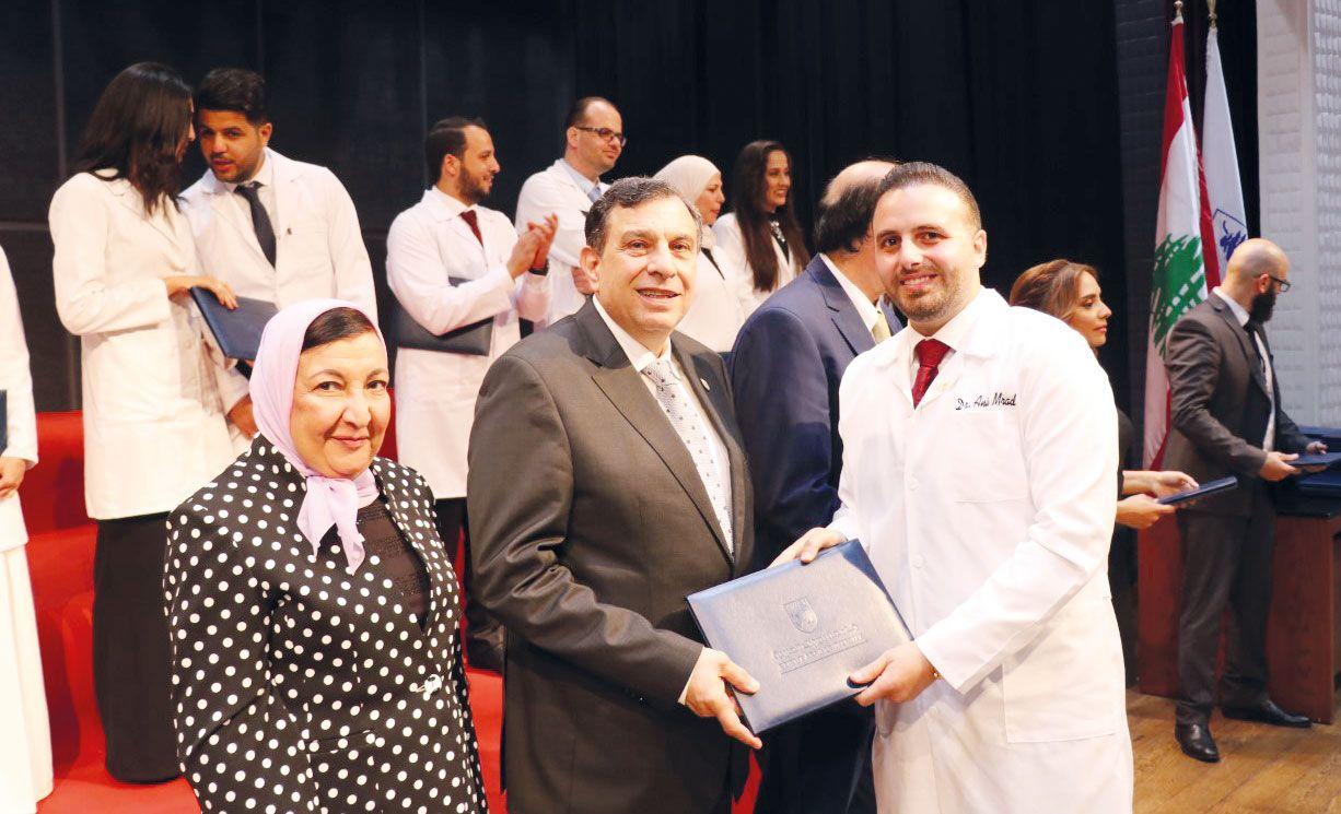 جامعة بيروت العربية تخريج 64 طبيبا في الإختصاص والاختصاص الدقيق Coat Lab Coat Jackets