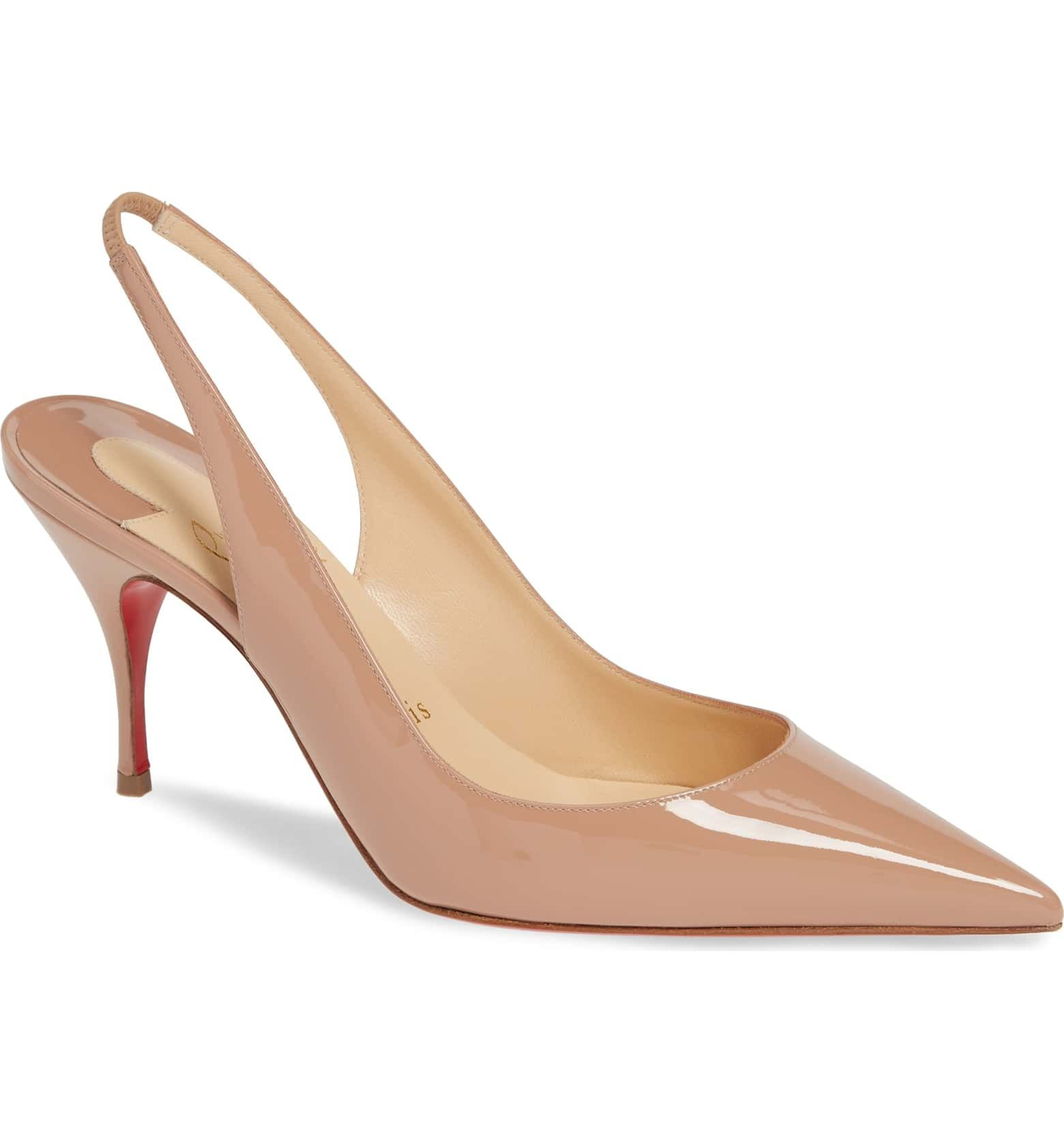 00b04b46dfb Clare Slingback Pump, Main, color, NUDE PATENT | Rustic and Country ...