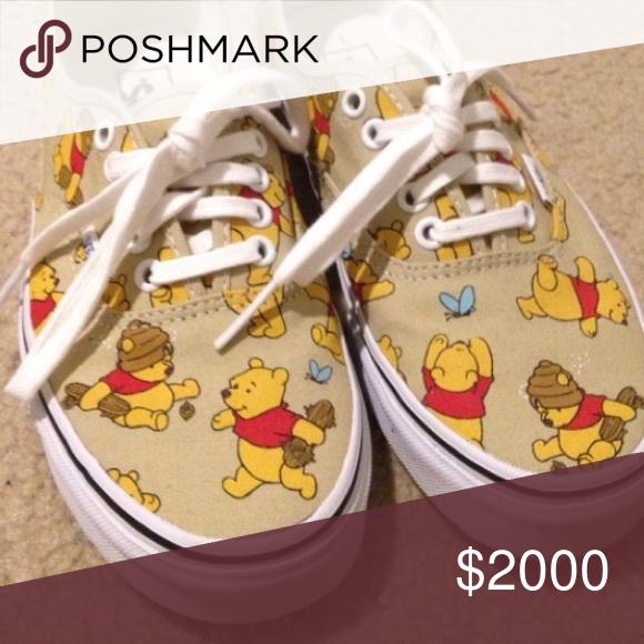 winnie the pooh vans size 7.5
