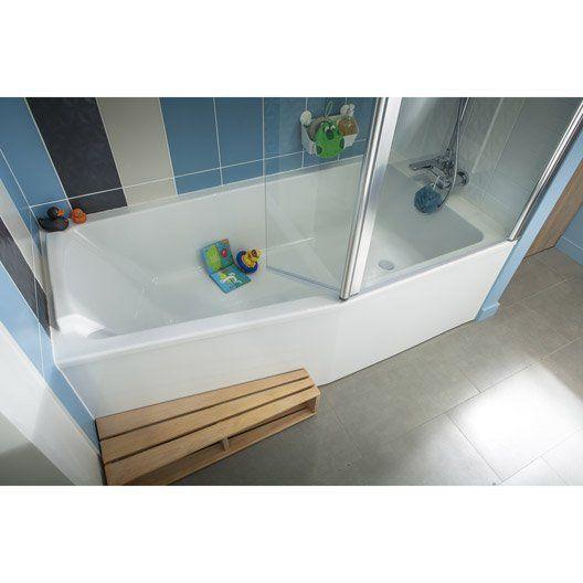 tablier de baignoire asymetrique l 160 jacob delafon sofa. Black Bedroom Furniture Sets. Home Design Ideas
