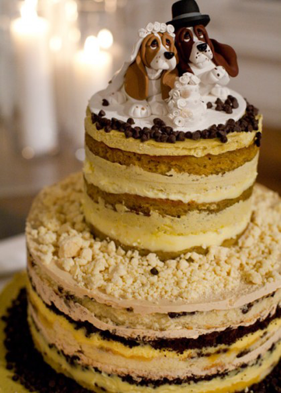 This naked cake strays from the vanilla sponge path with Passion ...