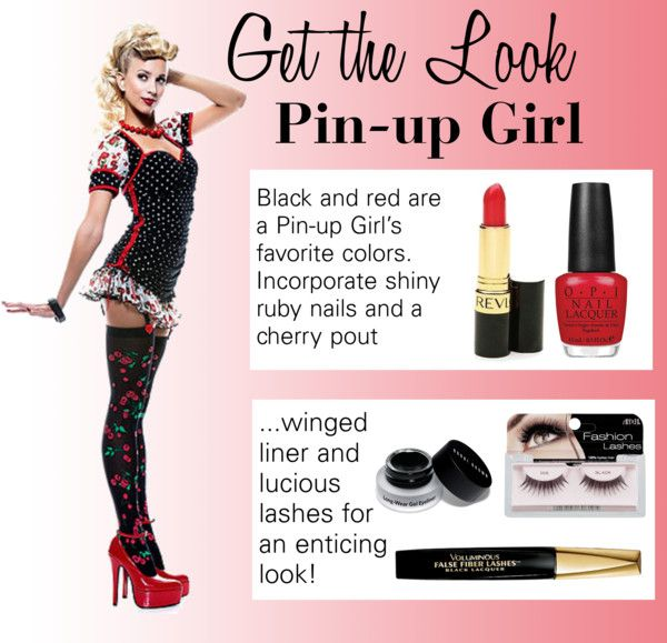 """Valentine's Day - Pin-up Girl"" by khorvat on Polyvore"
