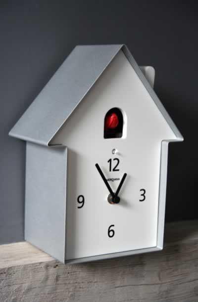 Meridiana Cuckoo Clock Contemporary Wall Clocks