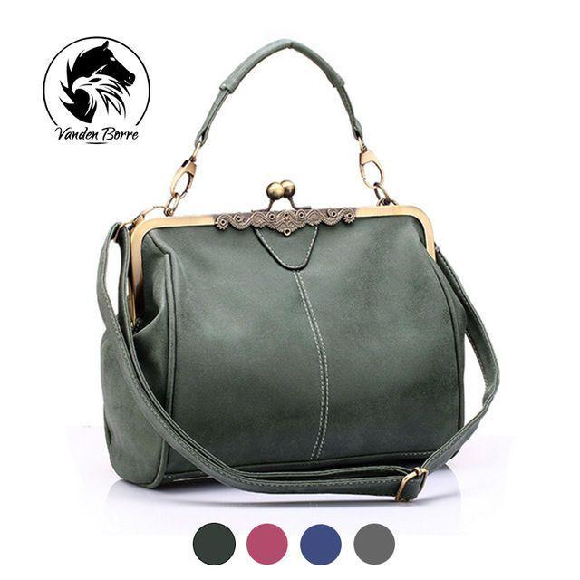 b64ab06738 Retro Hand Bag Women s Bag Messenger Vintage Shoulder Ladies Bag For Women.