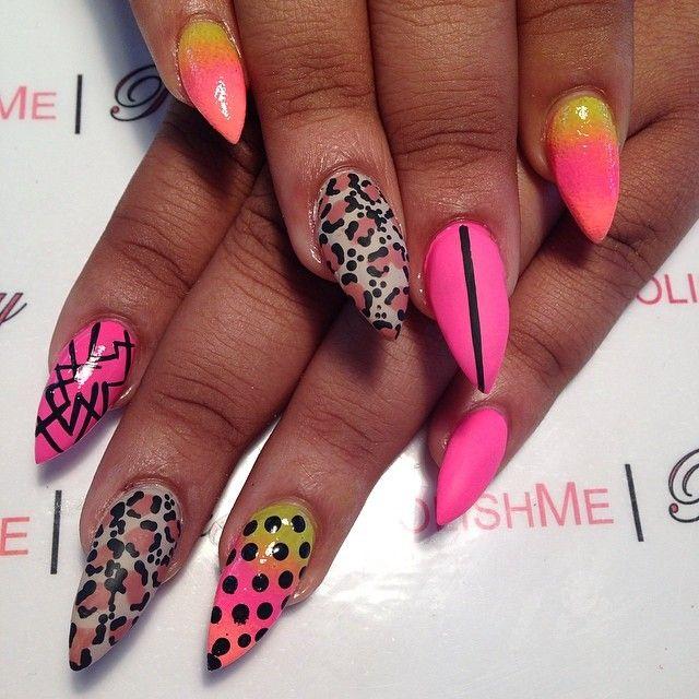 Sharp as a nail | Nail Art Ideas | Pinterest | Nails games, Coffin ...