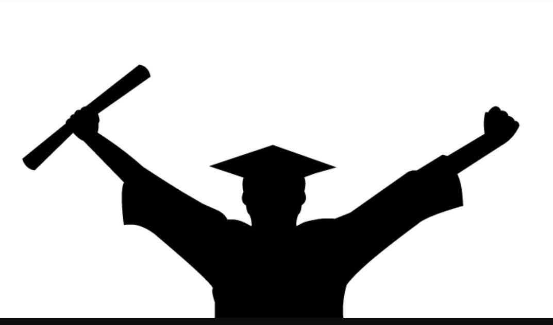 male graduate silhouette grad stuff graduation clip