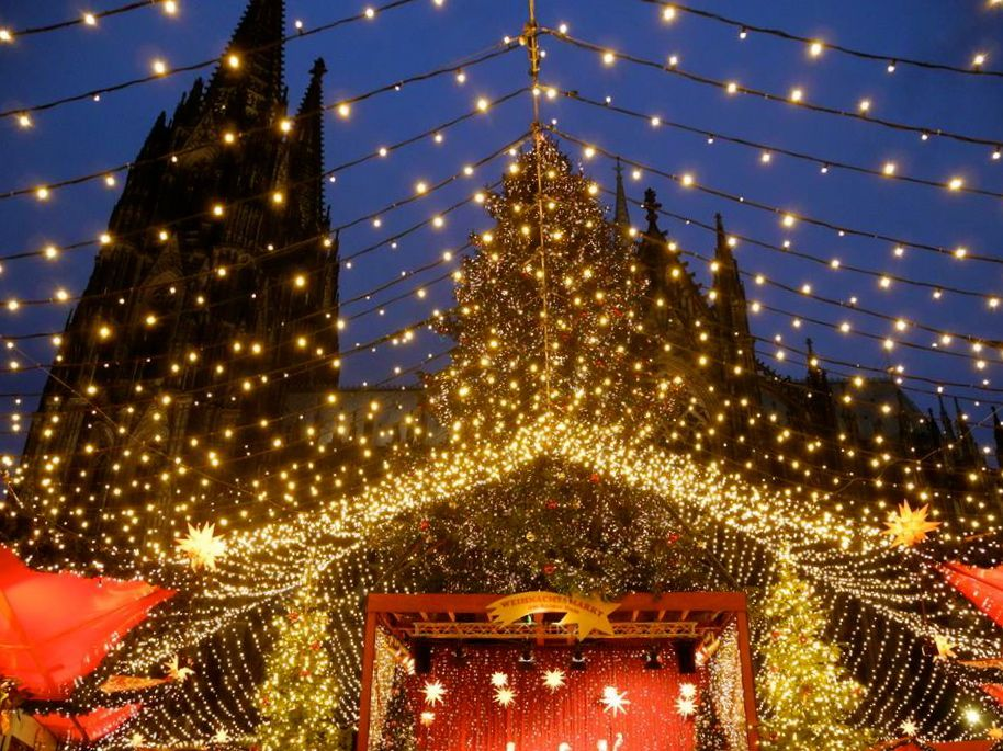 Cologne, Germany Christmas Around the World Pinterest