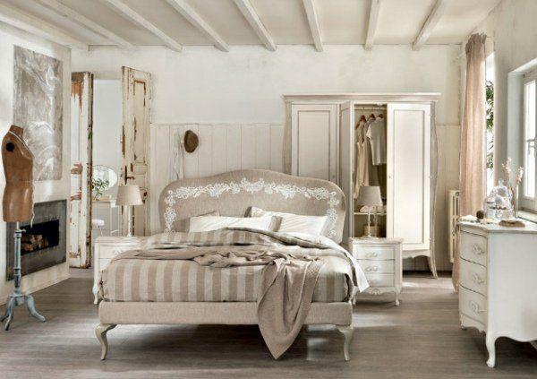 90 idées de décoration avec des meubles shabby chic