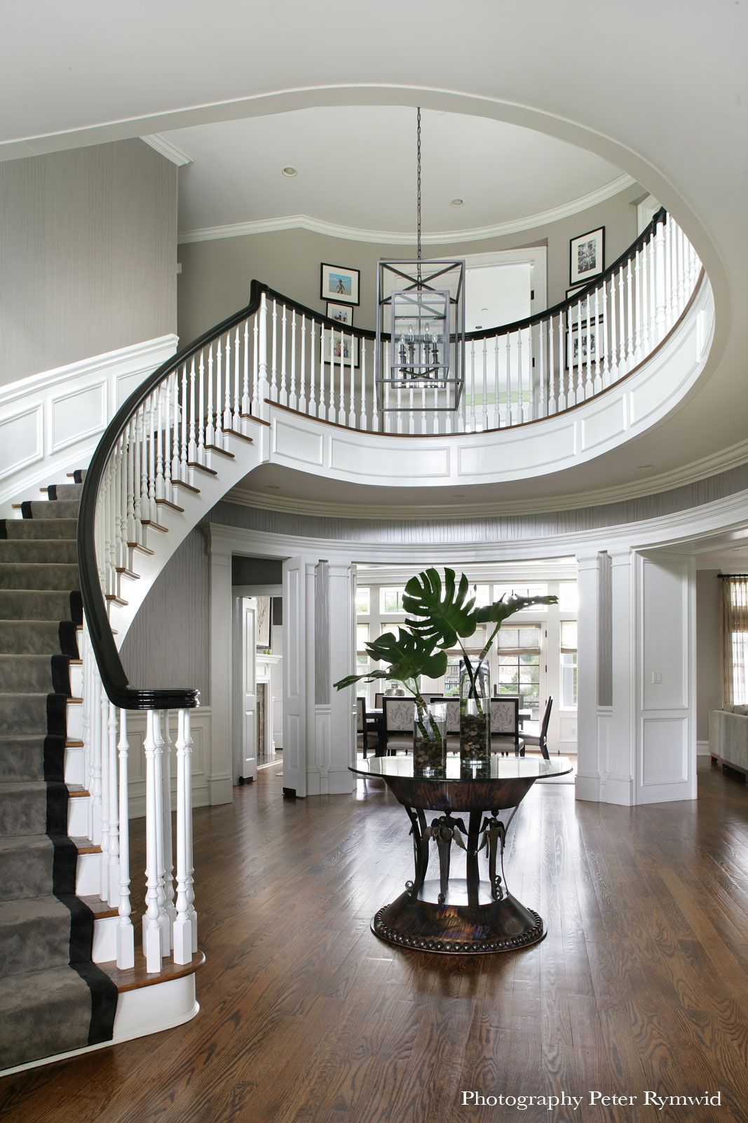 Larchmont Ny Staircase Design Entry Foyer Foyer Staircase