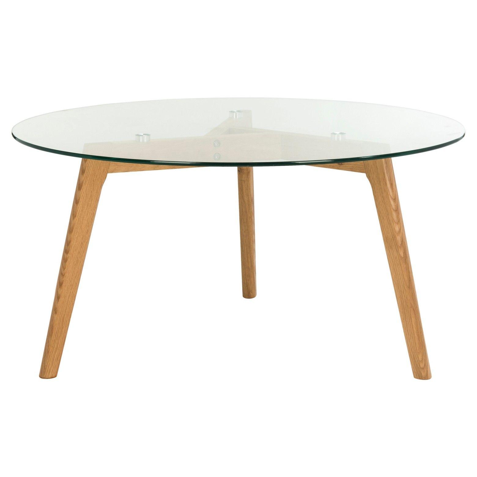 Marjoram Round Glass Coffee Table Clear Oak Safavieh Coffee Table Round Glass Coffee Table Contemporary Glass Coffee Tables [ 1560 x 1560 Pixel ]