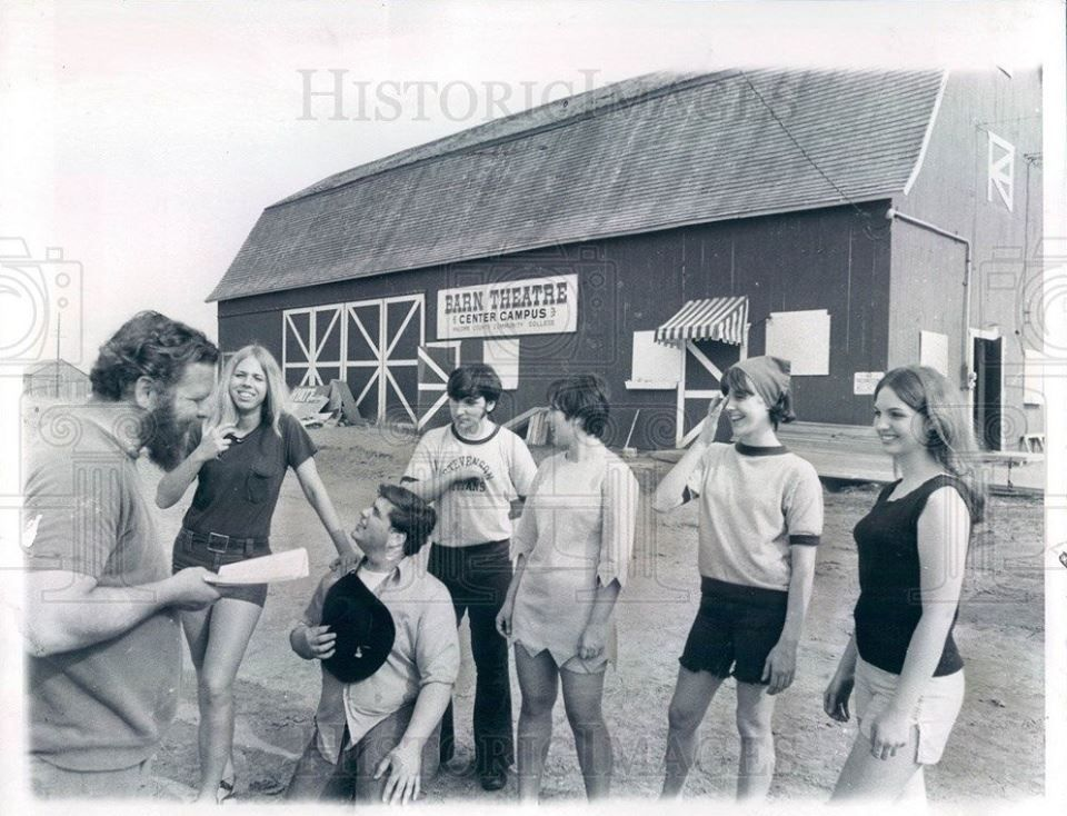 """""""The Barn Theatre"""" 1960's at Hall Road & Garfield. This is ..."""