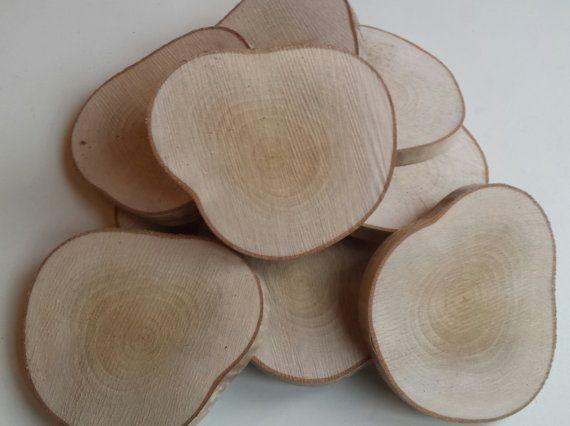 Large Silver Birch Wooden Blanks 12 5cm Tree Slices Large Wood Slices Branch Slices Wooden Slices Uk Wedding Weddings Wooden Slices Handmade Wood Slices