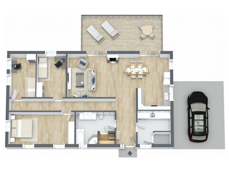 3d Raumplaner Die Kreative Wohnungsgestaltung Ideen App Grundriss Wohnzimmer Schlafzimmer Room Planner House Design Home Planner