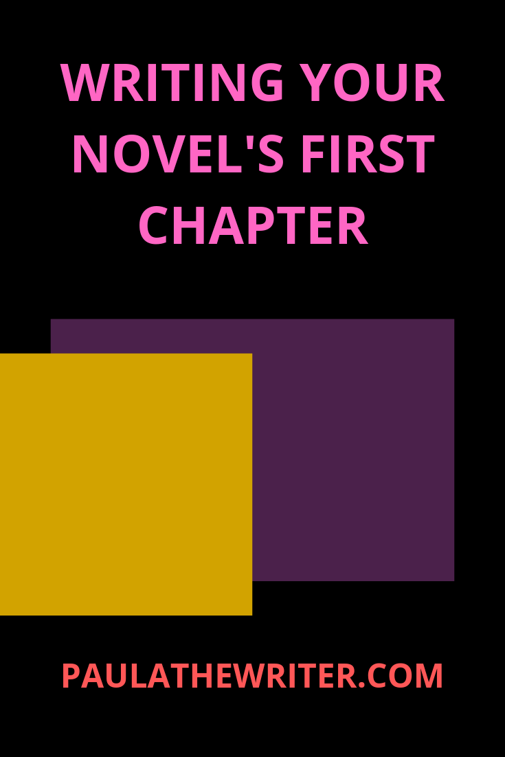 how not to write a first chapter common mistakes to avoid