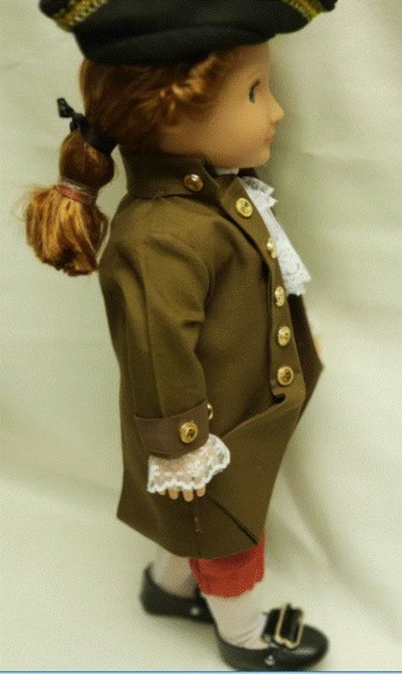 Thomas Jefferson  doll - historical doll - colonial clothes  - George Washington - Alexander Hamilton - Historical Doll - boy doll clothes #historicaldollclothes