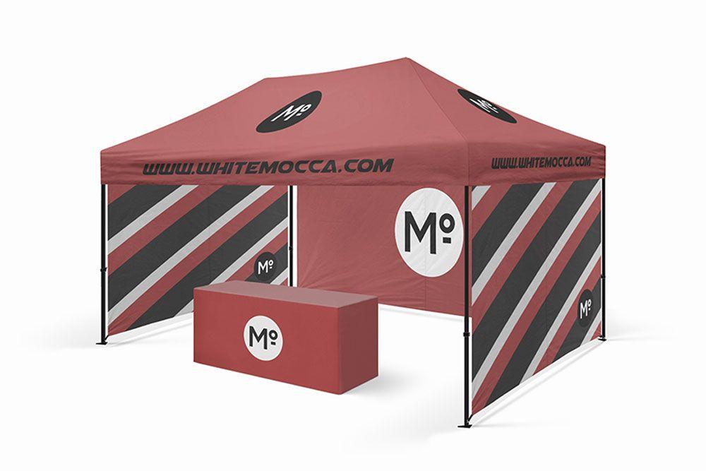 Exhibition Stand Design Mockup Free : Exhibition booth backdrop mockup generator sharetemplates