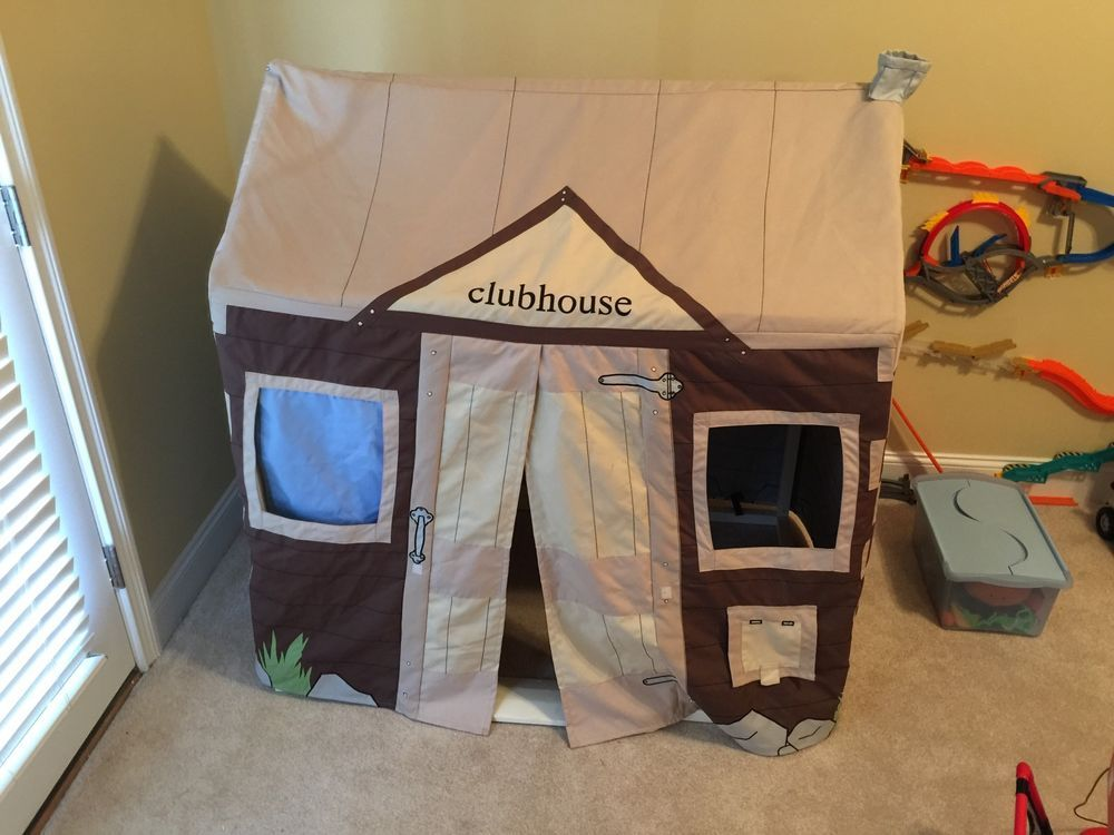 Pottery Barn Kids Clubhouse Playhouse Cover #PotteryBarn & Pottery Barn Kids Clubhouse Playhouse Cover #PotteryBarn ...