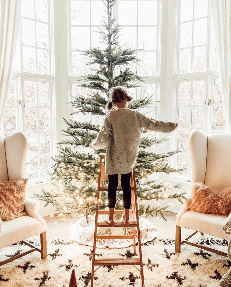Weihnachtsbaum schmücken #christmasaesthetic