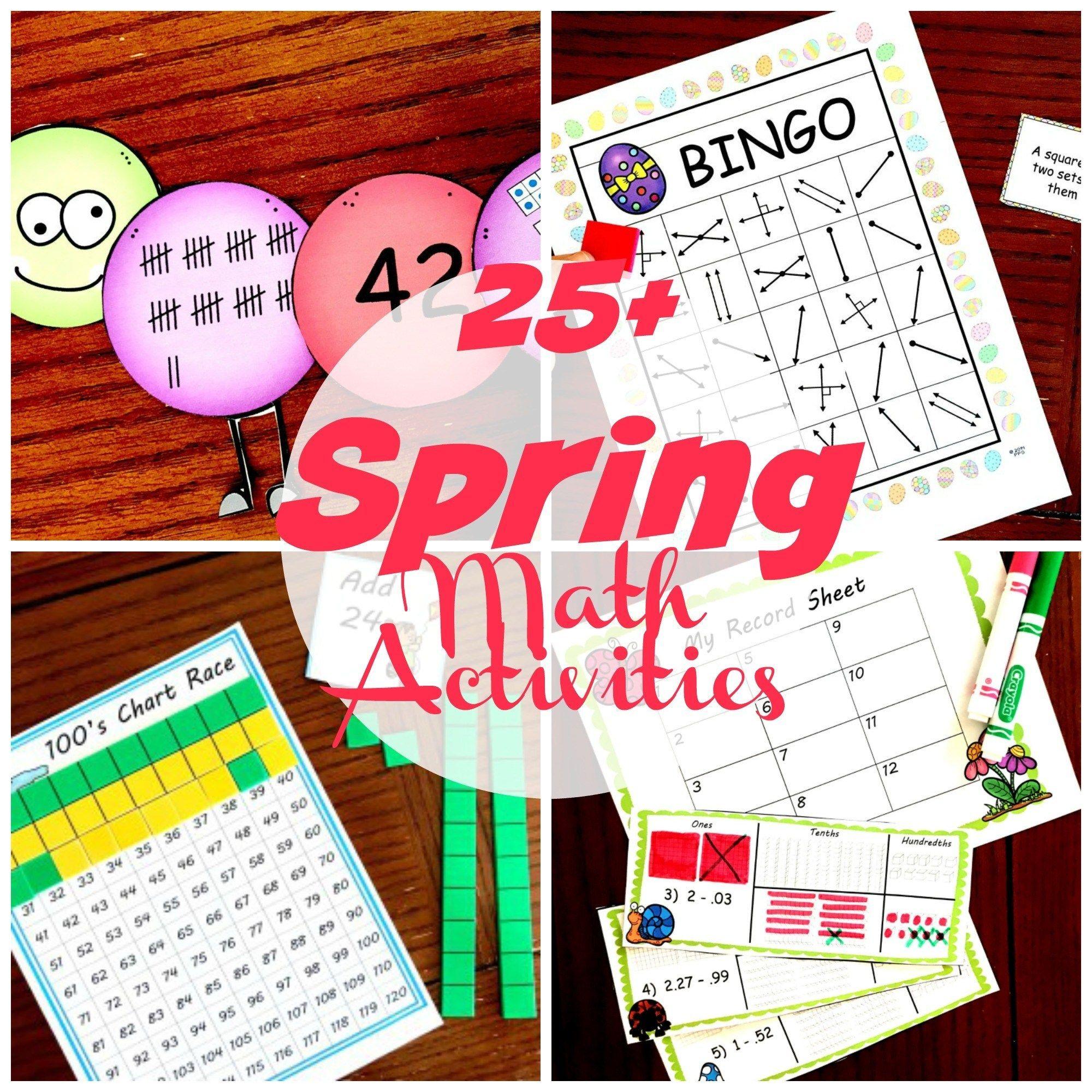 25 Free Spring Math Worksheets Games Activities And More Spring Math Spring Math Worksheets Math Worksheets [ 2000 x 2000 Pixel ]