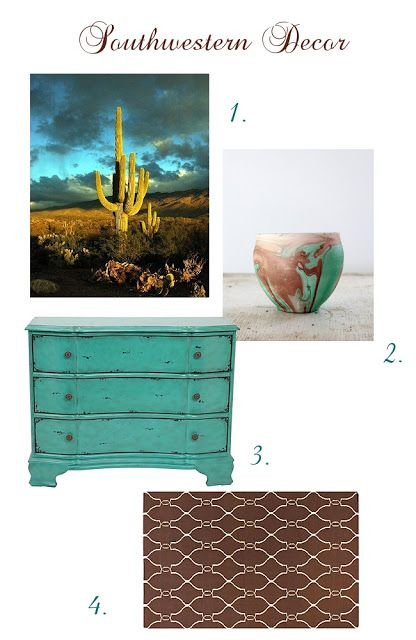 Modern Southwestern Home Decorating Turquoise Blue Brown Pottery Living Room Dining Sedona New Mexico Arizona Az Phoenix Glendale Affordable