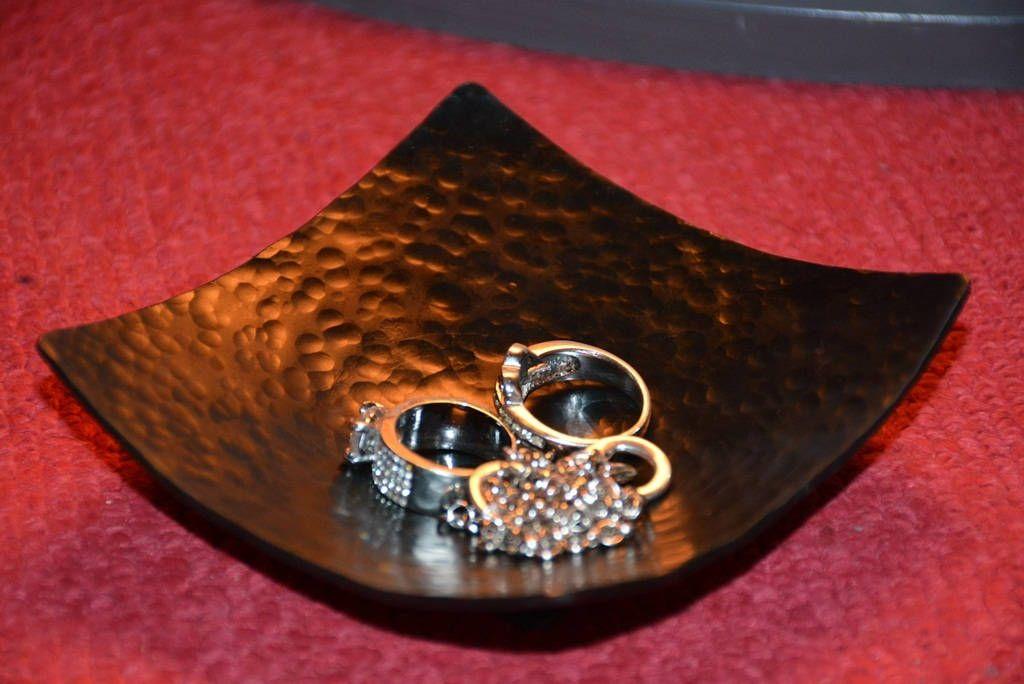 Handmade Tray Decoration Alluring Wedding Ring Dish Square Trinket Tray Jewelry Storage Handmade Inspiration Design