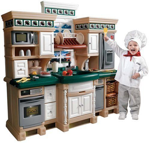 Toy Kitchen Sets - Step2 Step 2 LifeStyle Deluxe Kitchen >>> See ...