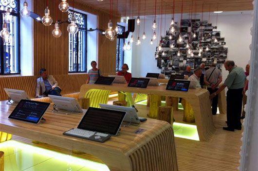 El Diseno Vasco Viste La Nueva Oficina De Turismo De Bilbao