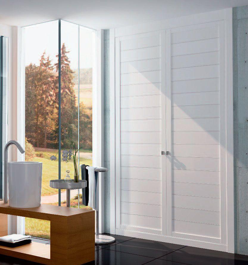 Modelo armario puertas blanco armarios en 2019 - Puertas correderas de armarios ...