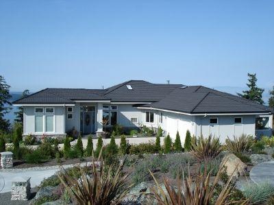 Residence Decra Tile Charcoal Www Decra Com Roof Design 3d Building Design Decra Roofing