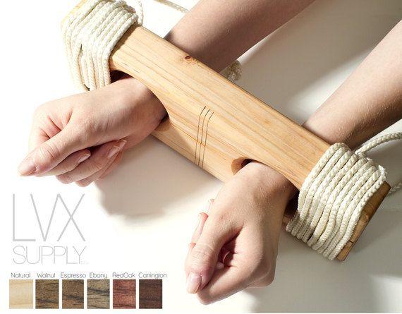 Wood bondage toys