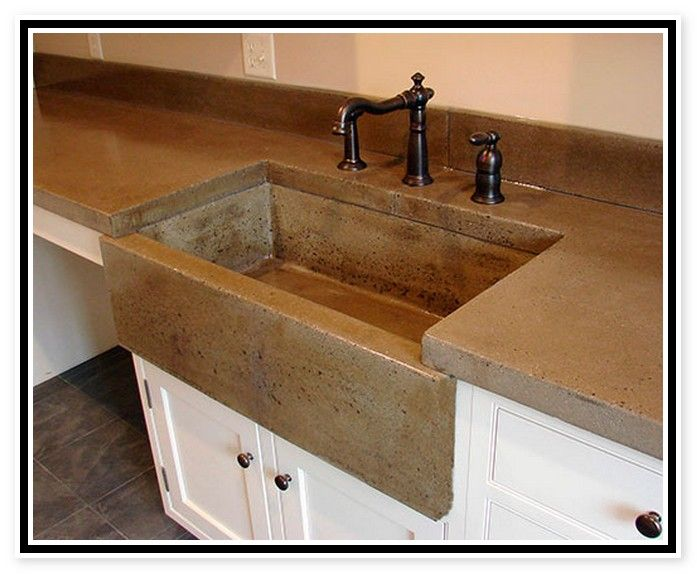 Concrete Sink Molds Uk Concrete Sink Concrete Countertops