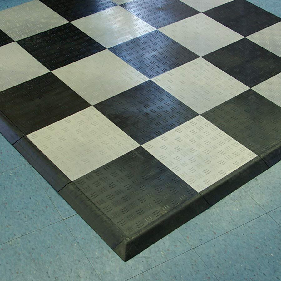 Garage Floor Tile Diamond | Garage floor tiles, Tile floor ...