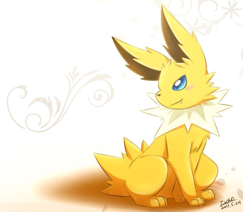 20 Beautiful Pokemon Jolteon Pokemon Pokemon Eeveelutions Pokemon Eevee