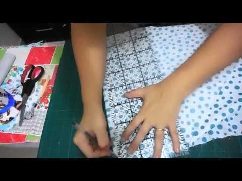 ▶ Patchwork Ao Vivo #11: aproveitamento de retalhos com Stack and Slash e Crazy Quilt - YouTube