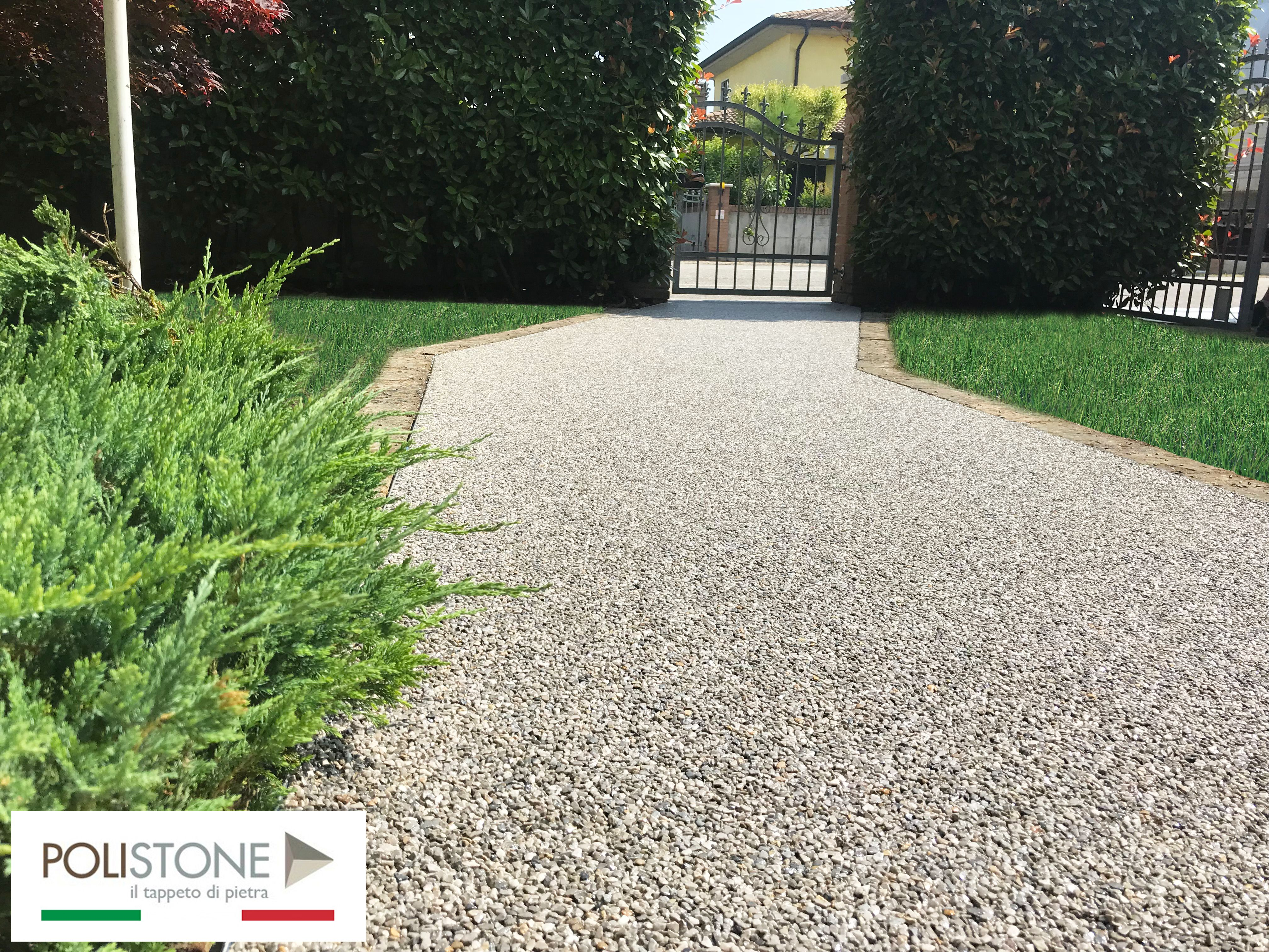 Pavimentazione Giardino In Pietra granuresina è una pavimentazione in pietra naturale drenante