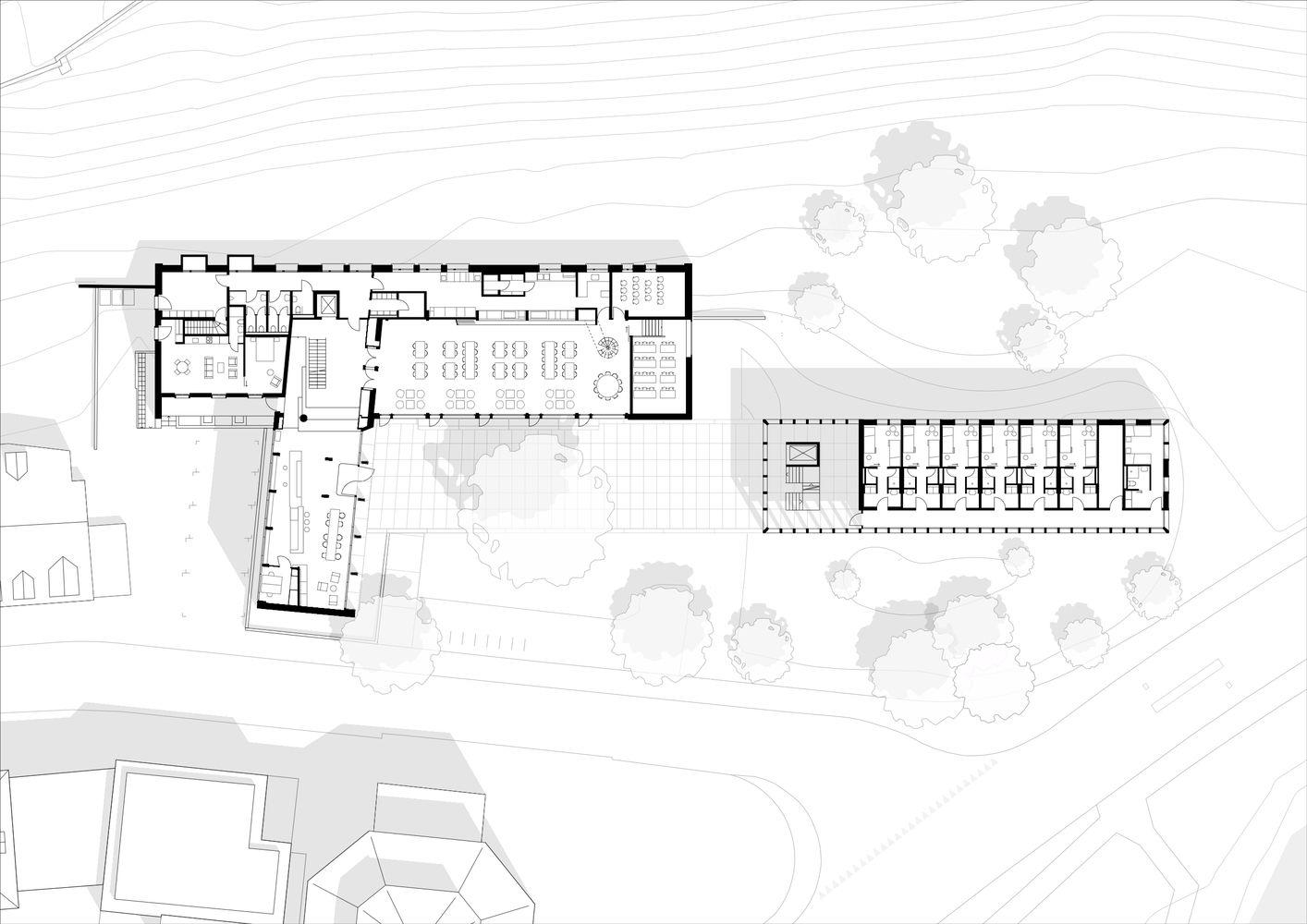 Gallery Of Youth Hostel Bern Aebi Vincent Architects 19 Youth Hostel Hostel Architect