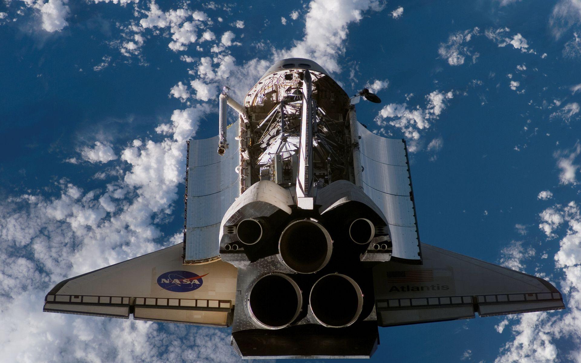 ships rockets Space Shuttle Atlantis NASA vehicles