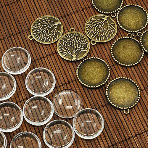 Tree of Life Pendant Kit, 10 Sets, Antique Bronze, 32x28mm Heart Rock Beads http://www.amazon.com/dp/B00OVDEQZC/ref=cm_sw_r_pi_dp_B6xrvb0EFCN3R