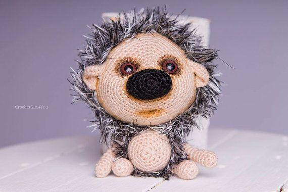 Project by CrochetGift4you. Hadgehog Kuka crochet pattern by Pertseva for LittleOwlsHut.#LittleOwlsHut#crochet pattern#hedgehog# amigurumi#Pertscrafts#DIY#crafts#toy#