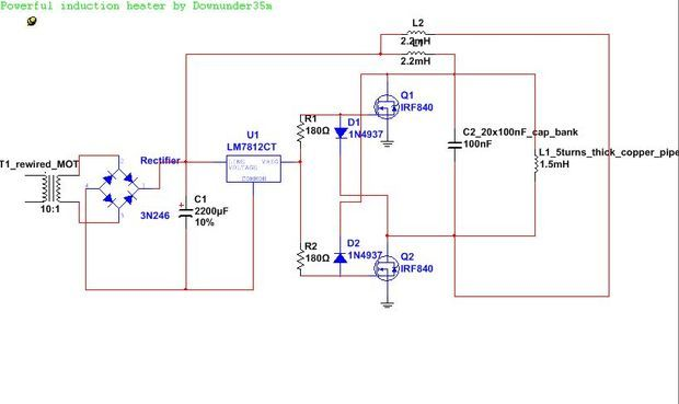 Homemade Induction Furnace Plans - Homemade Ftempo