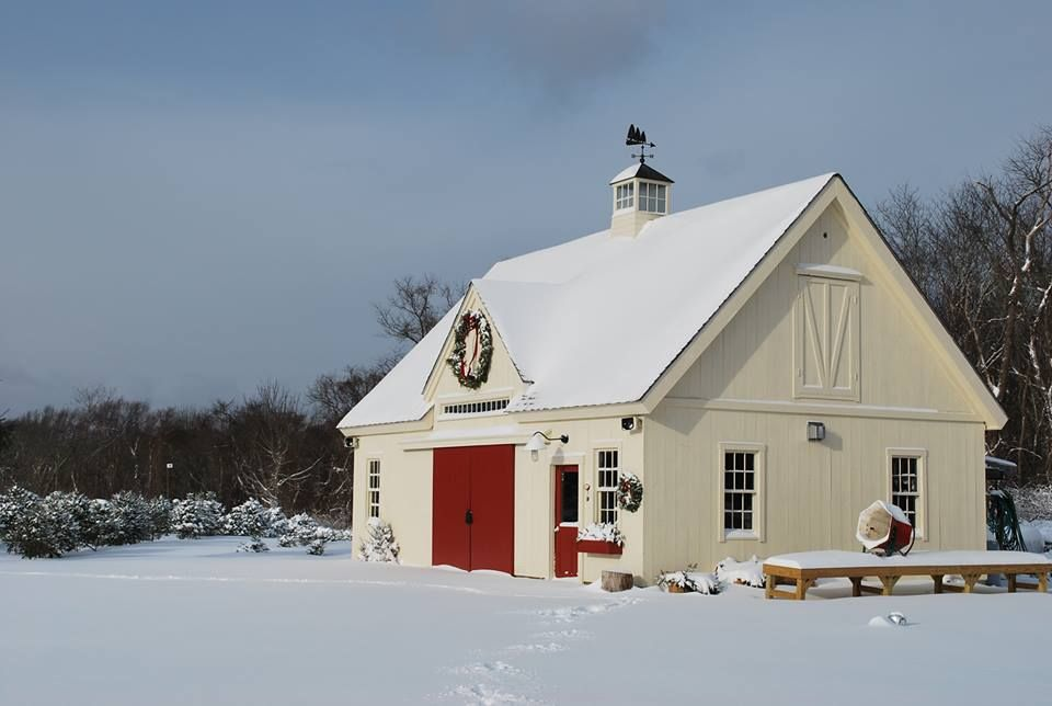 24 36 Christmas Tree Barn Yankee Barn Homes House Pole Barn Homes