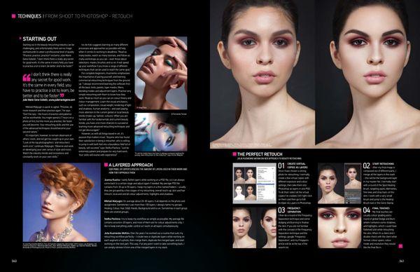 Adobe Photoshop Magazine #121 by Julia Kuzmenko McKim, via Behance