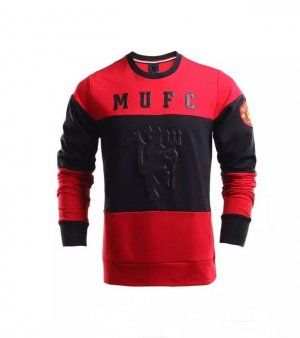 Manchester United 16-17 Season Black & Red Soccer Sweater [J232]
