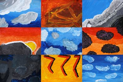 Cloudscapes Ii Art Clroom School