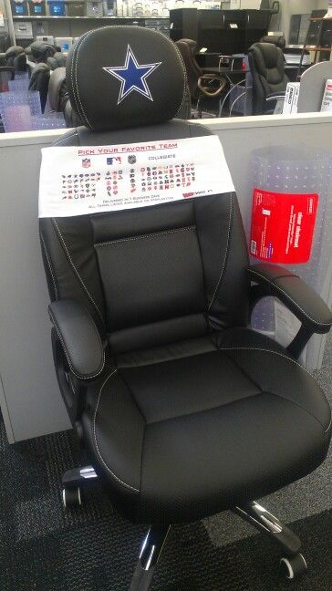 Found At Staples Dallas Cowboys Office Chair Gocowboys
