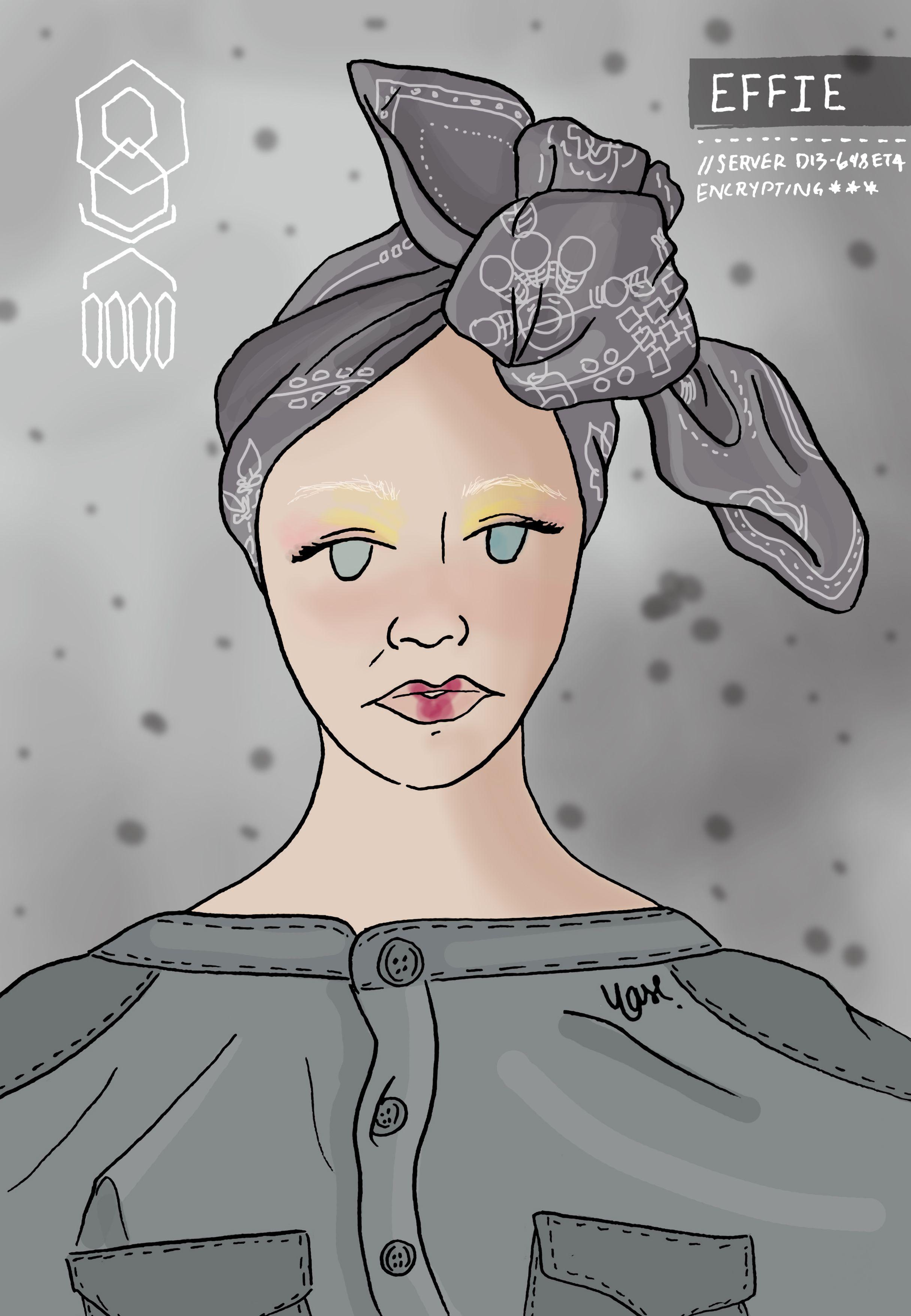 Effie Trinket Hunger Games Mockingjay