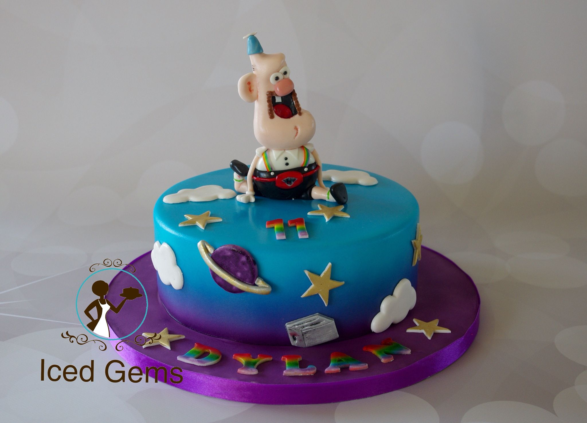 Uncle Granpa cake Uncle grandpa fondant topper Matthew 9th