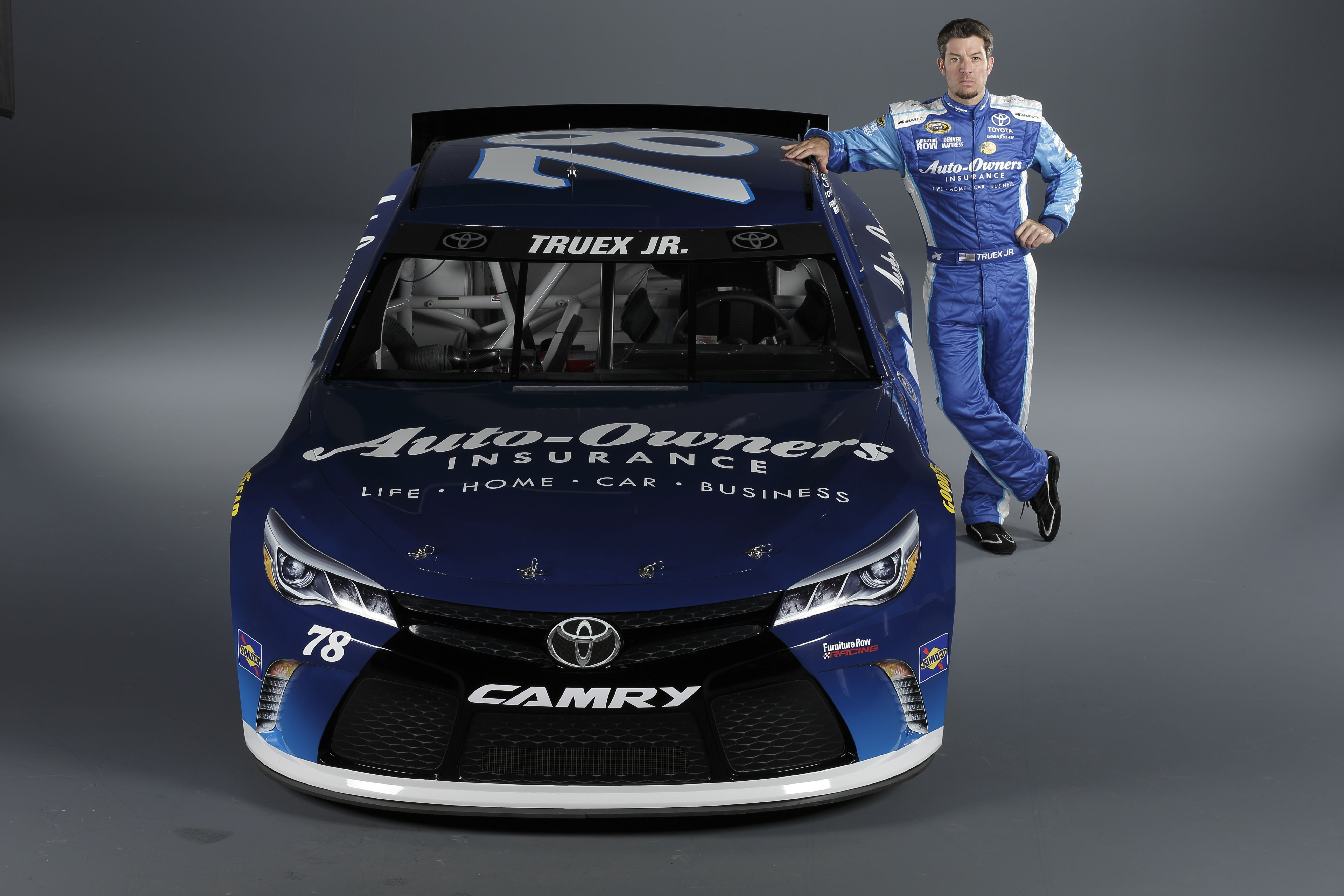 Photo shoot with 78 Martin Truex Jr. and the AutoOwners