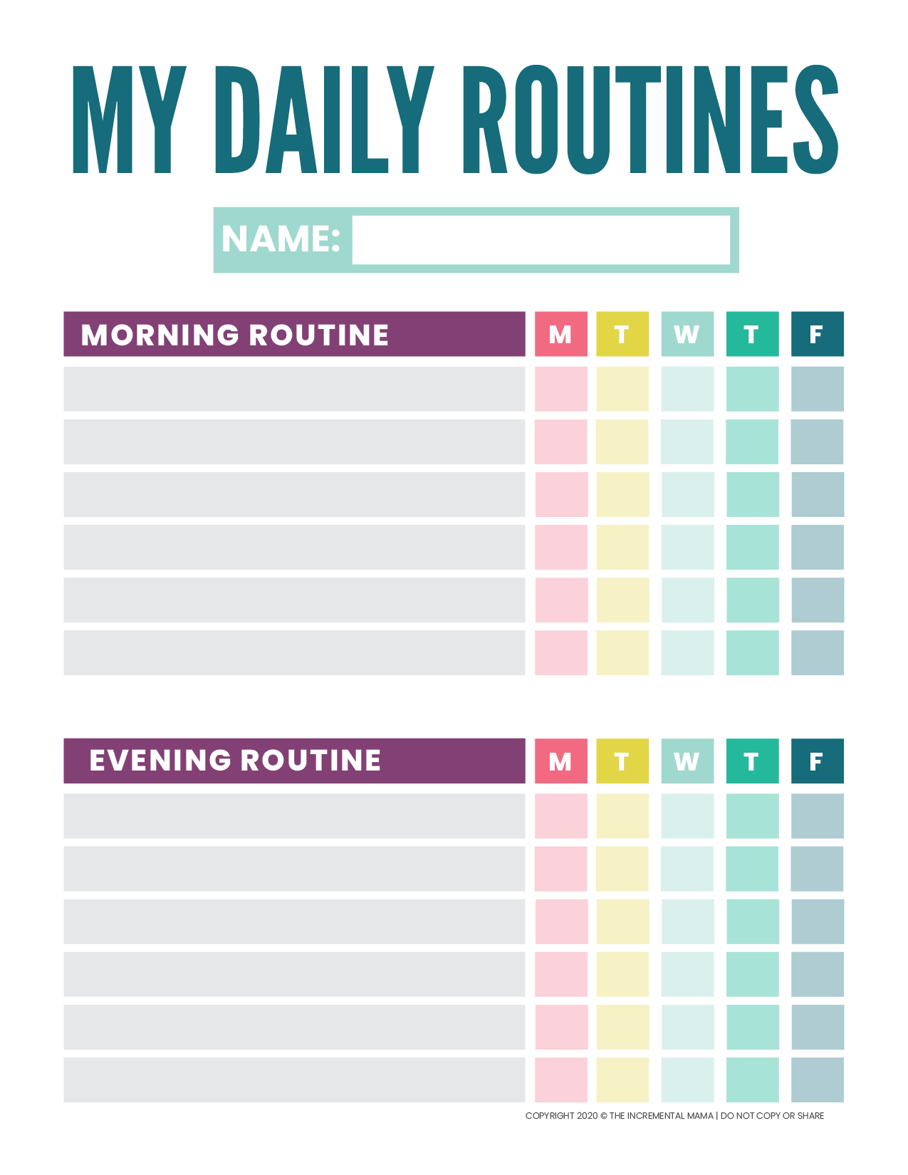 Free Printable Routine Chart For Kids Daily Routine Chart For Kids Daily Routine Chart Daily Schedule Kids