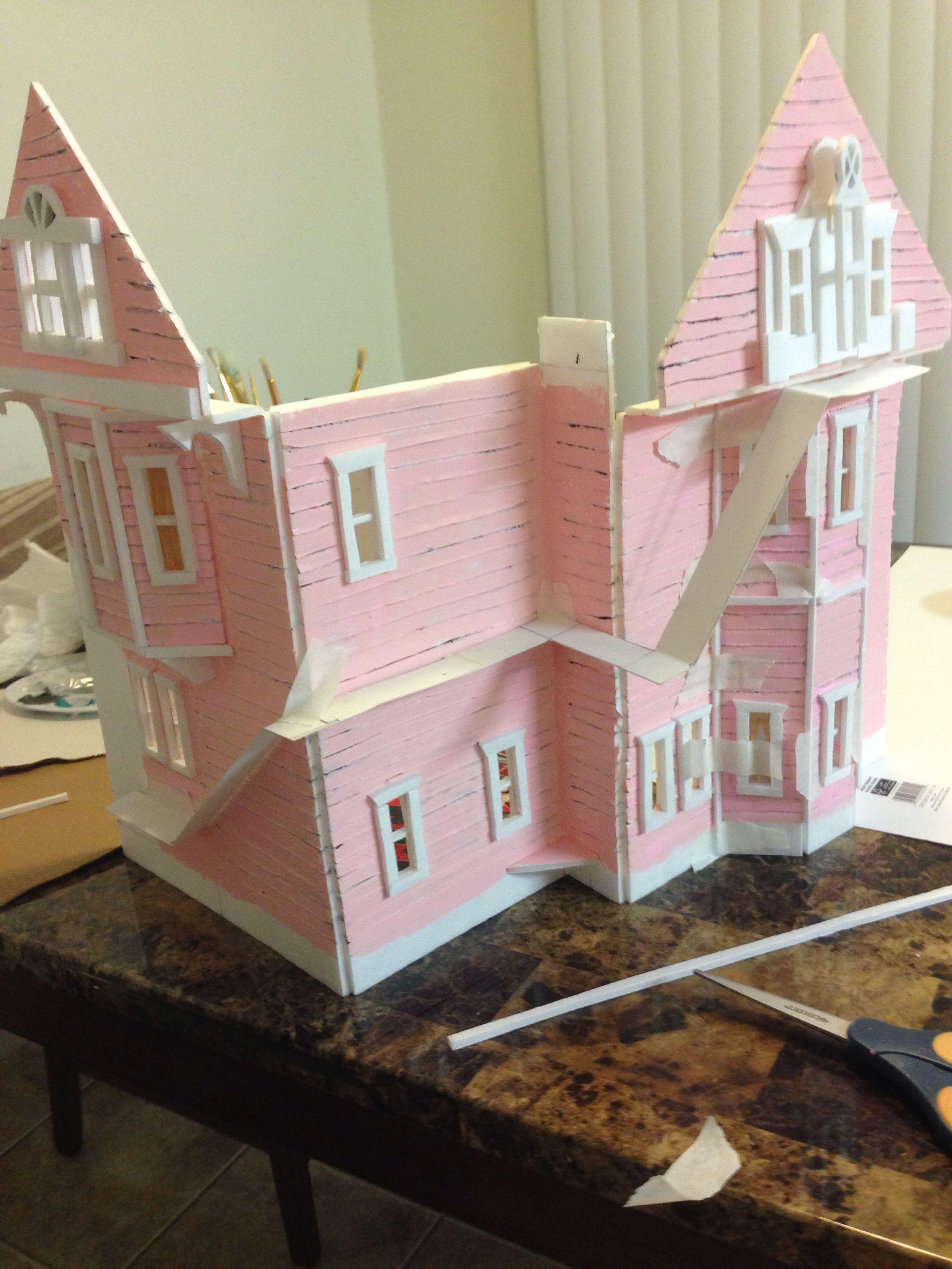 Coraline Pink Palace Apartments Tim Burton Coraline Cores Palacio